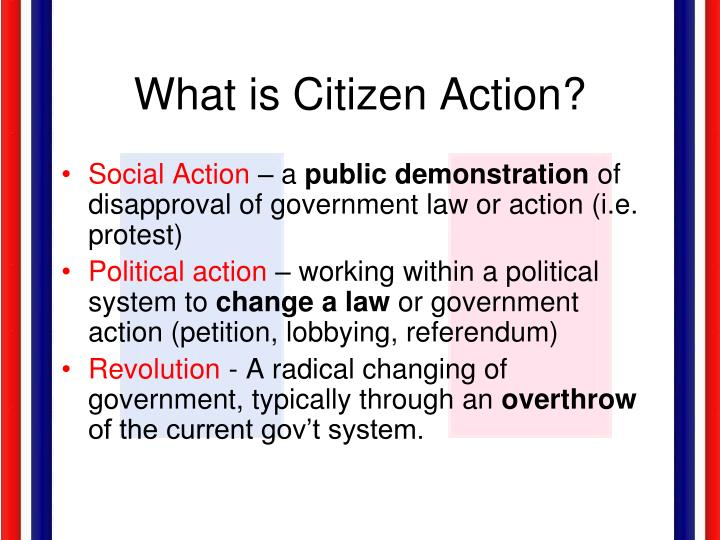 What is Citizen Action?