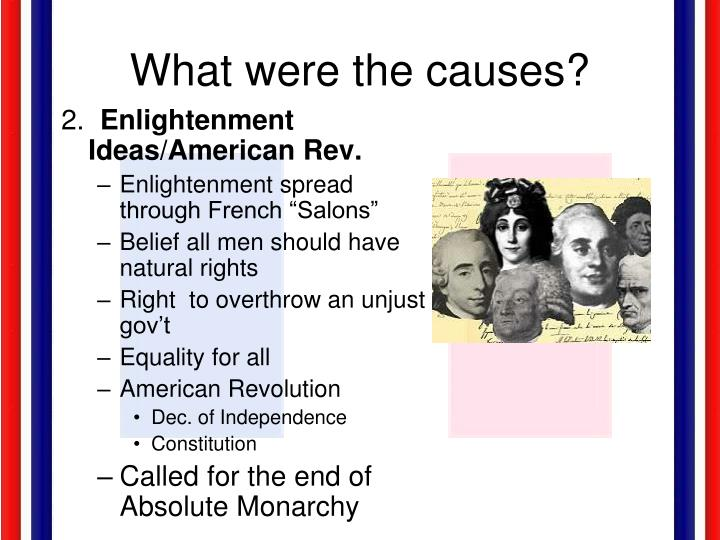 What were the causes?