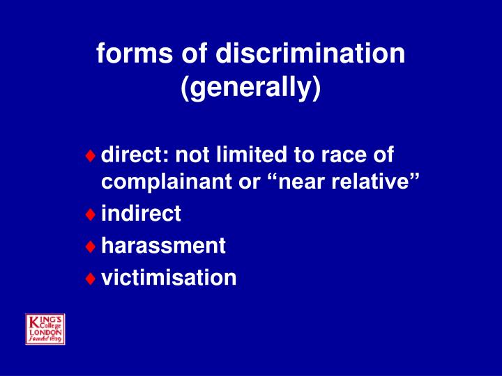 the problem of interference of the equality of law by race and sex The fundamental human rights guarantees of equality and  under international  law, this requires states to identify and eliminate  prohibit discrimination on the  grounds of race, colour, sex, language,  failure to do so may lead to unequal  outcomes of development and poverty alleviation programs.