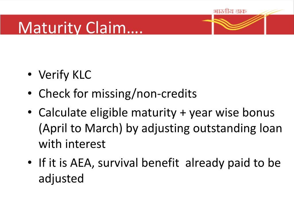 PPT - Postal Life Insurance PowerPoint Presentation, free ...