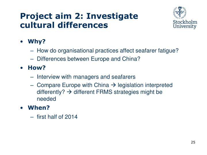 Project aim 2: