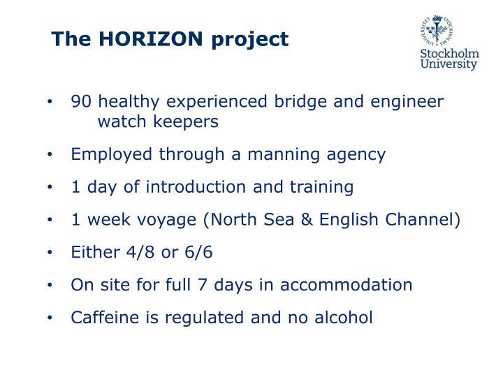The horizon project