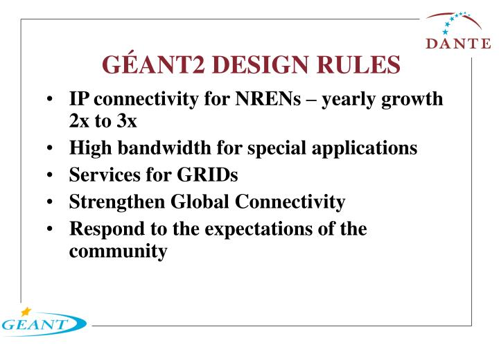 G ant2 design rules