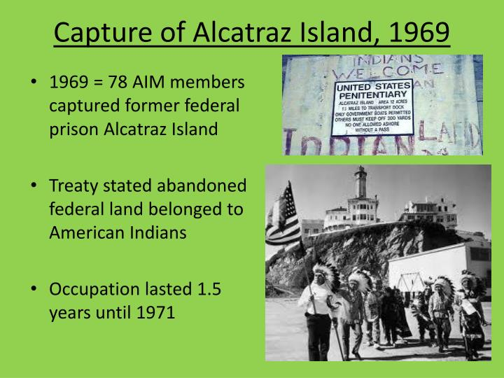 Capture of Alcatraz Island, 1969