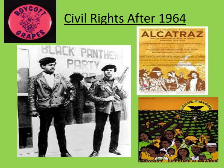 Civil rights after 1964