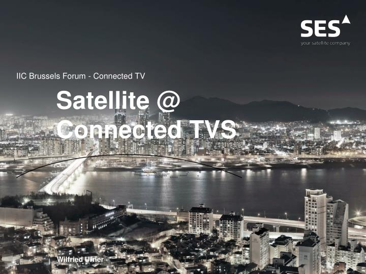 PPT - Satellite @ Connected TVS PowerPoint Presentation - ID