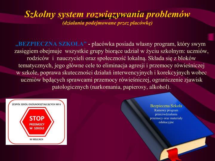 Szkolny system rozwiązywania problemów