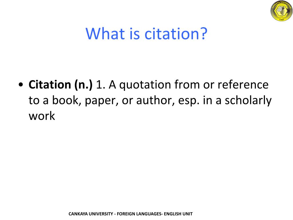 Ppt Citation Powerpoint Presentation Free Download Id 6030297