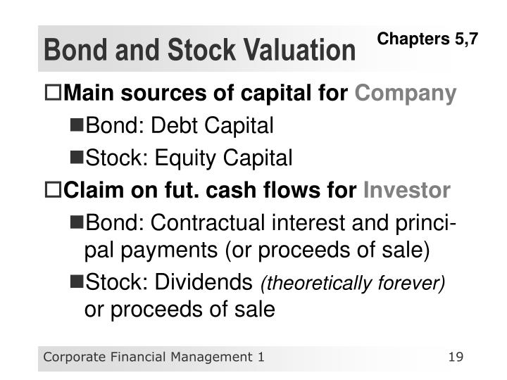 Bond and Stock