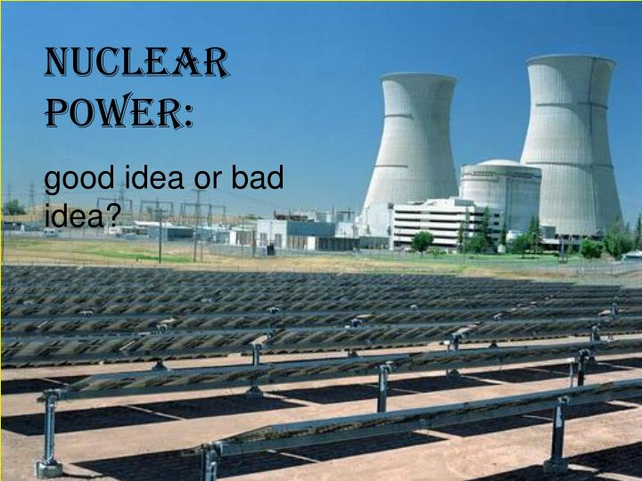 powerpoint idea for nuclear storage