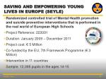 saving and empowering young lives in europe seyle