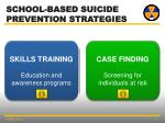 school based suicide prevention strategies