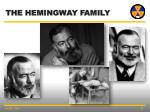 the hemingway family
