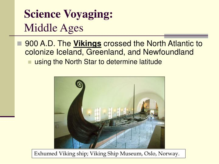 Science Voyaging: