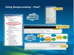 using geoprocessing how1