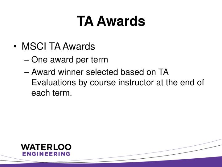 TA Awards