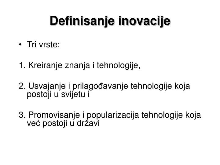 Definisanje inovacije