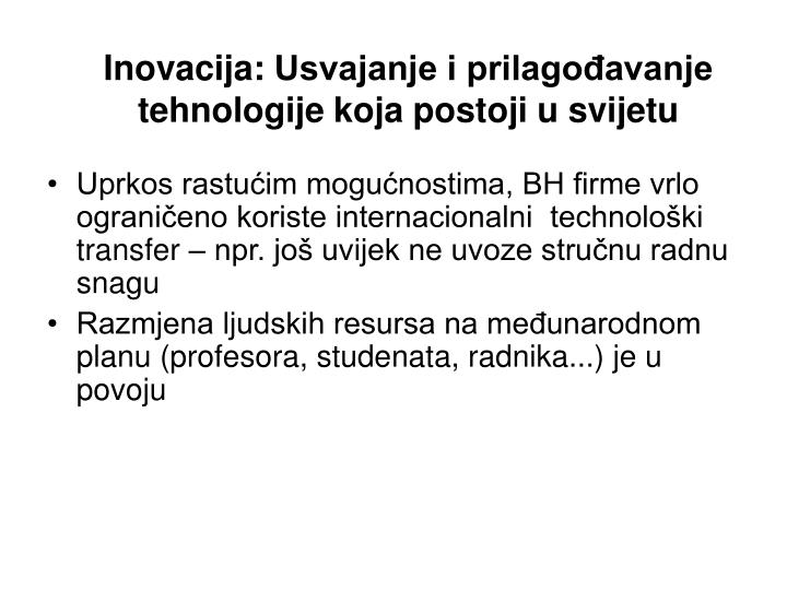Inovacija: