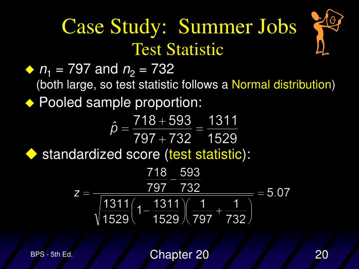 Case Study:  Summer Jobs