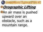 atmospheric lifting type 2