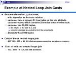 example of nested loop join costs