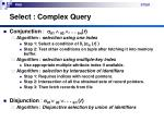 select complex query