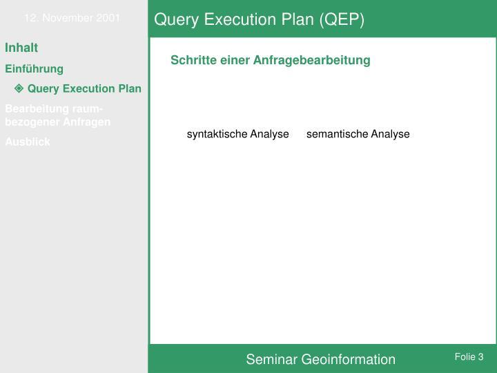 Query execution plan qep1