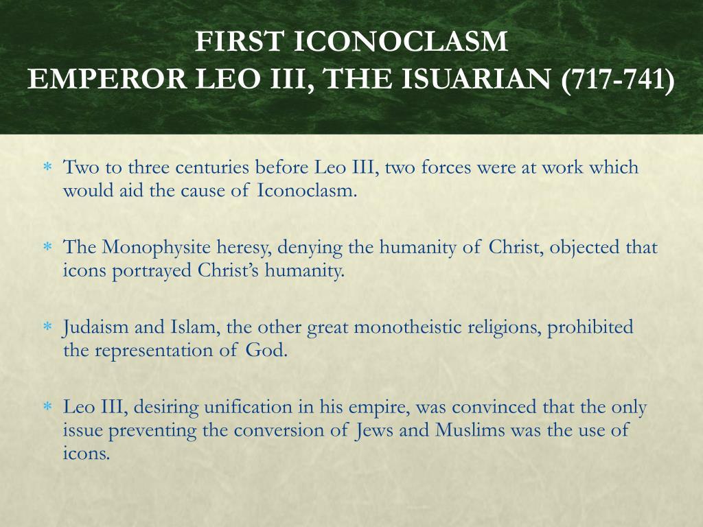PPT - Iconoclasm, The Carolingian Renaissance, And The ...