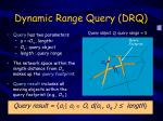 dynamic range query drq1