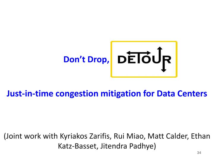 Don't Drop, detour!!!!