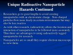 unique radioactive nanoparticle hazards continued2