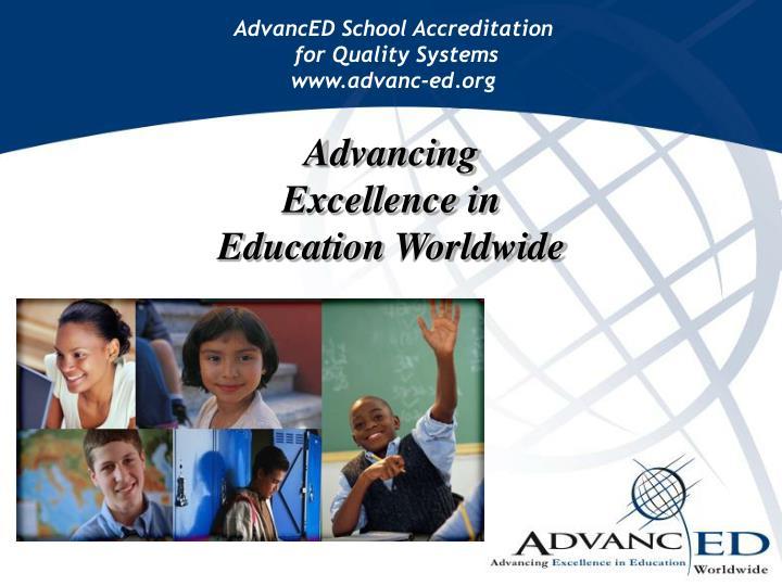 AdvancED School Accreditation