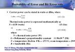probability of error and bit error rate1