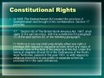 constitutional rights1
