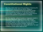 constitutional rights3