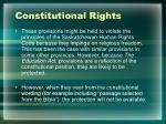 constitutional rights7