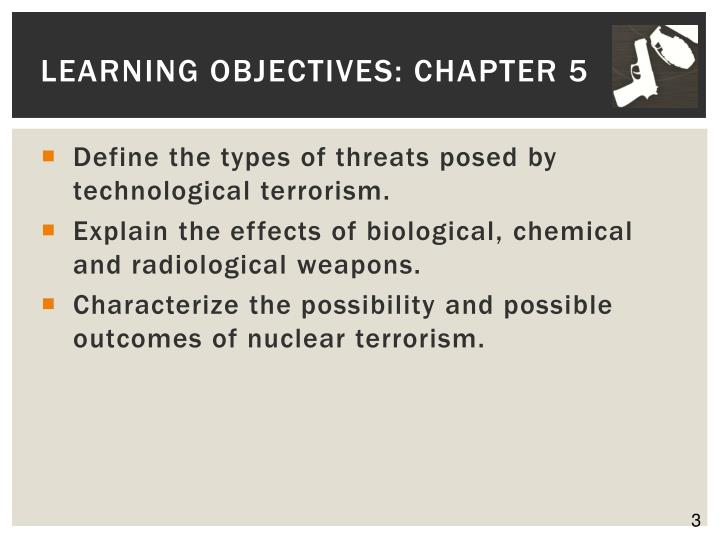Learning objectives chapter 51