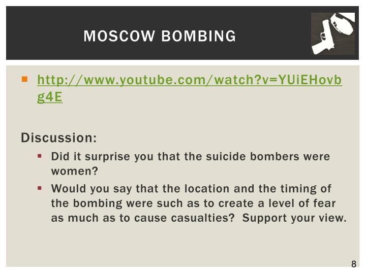 Moscow Bombing