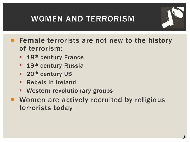 Women and Terrorism