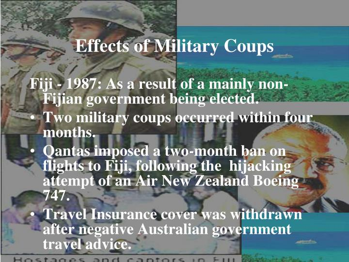 Effects of Military Coups
