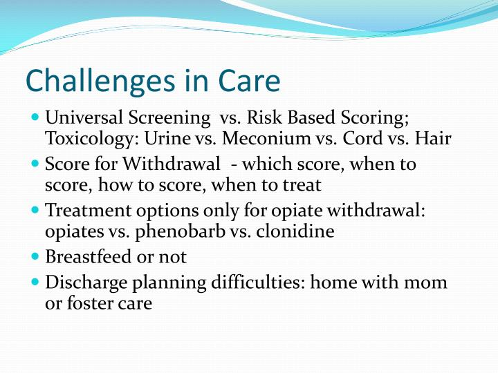 Challenges in Care