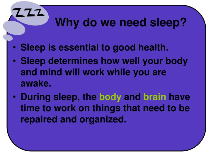 ppt - sleep powerpoint presentation
