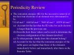 periodicity review25