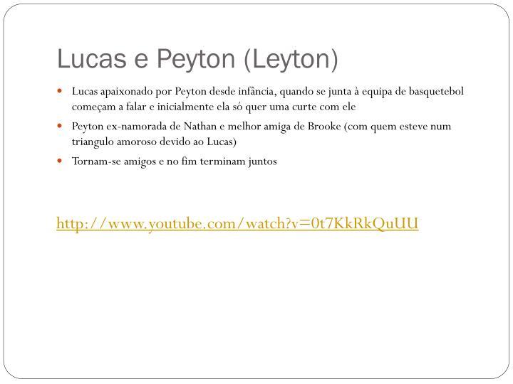Lucas e peyton leyton