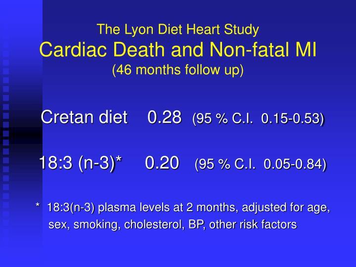 The Lyon Diet Heart Study