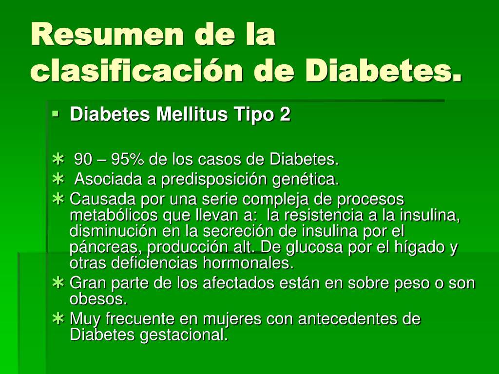 resumen de la serie 7 del examen de diabetes