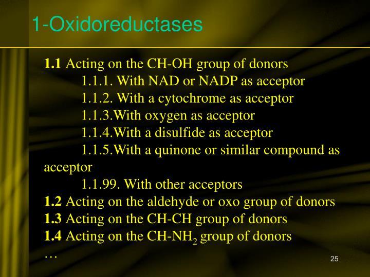 1-Oxidoreductases