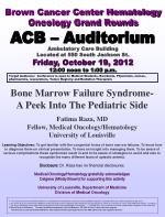 brown cancer center hematology oncology grand rounds