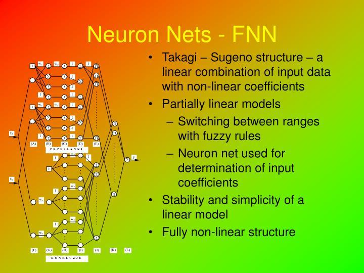 Neuron Nets - FNN