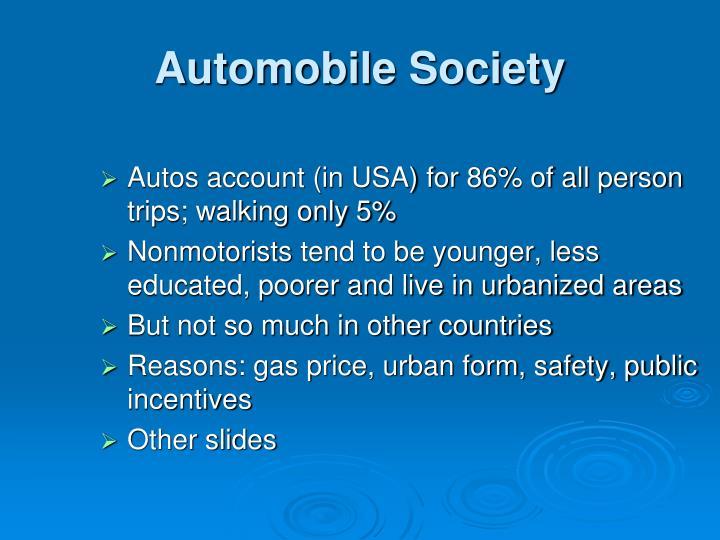 Automobile Society